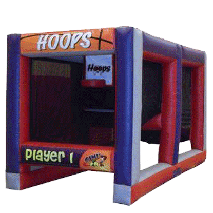 Inflatable Hoops Challenge Basketball Game